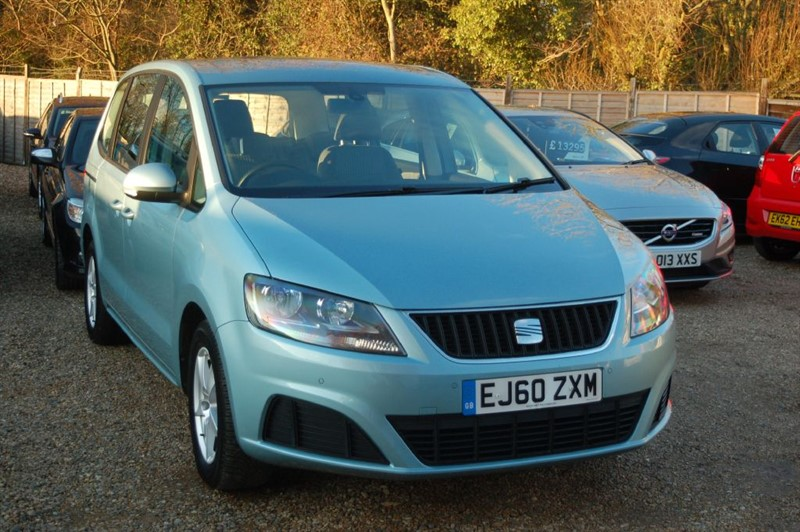 used SEAT Alhambra CR TDI ECOMOTIVE S in tiptree-essex