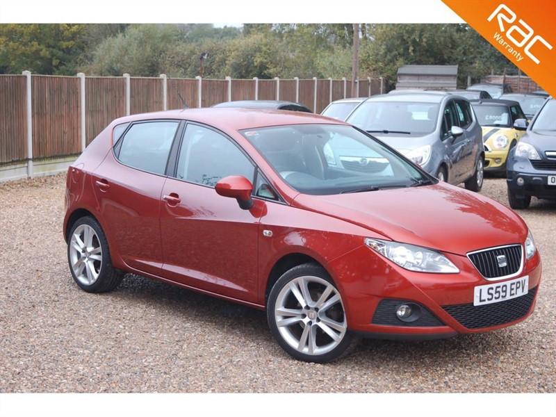 used SEAT Ibiza SPORT in tiptree-essex