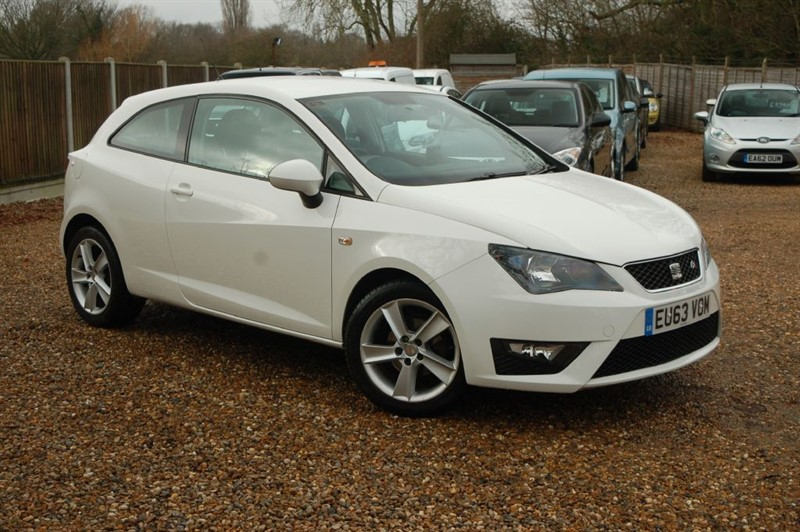 used SEAT Ibiza TSI FR in tiptree-essex