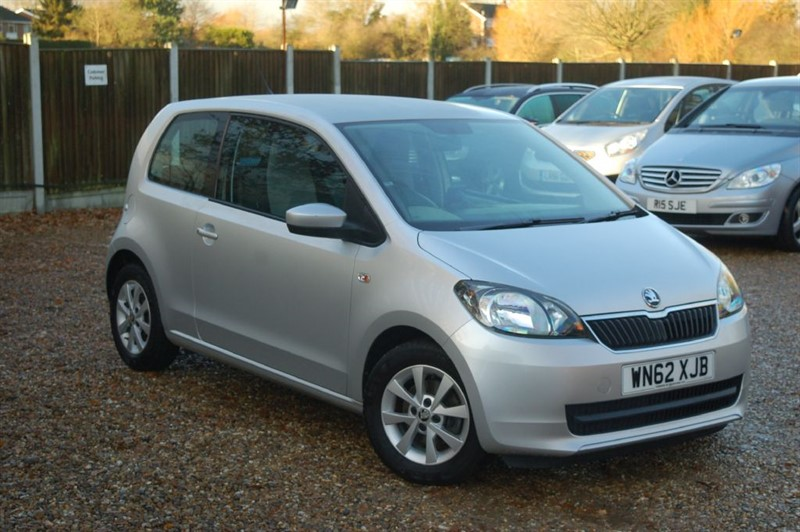 used Skoda Citigo SE GREENTECH in tiptree-essex
