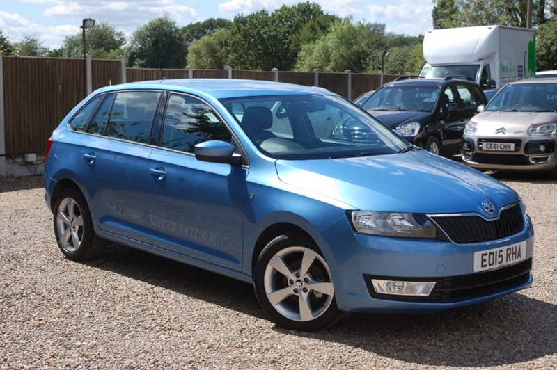 used Skoda Rapid SPACEBACK SE TECH TSI in tiptree-essex