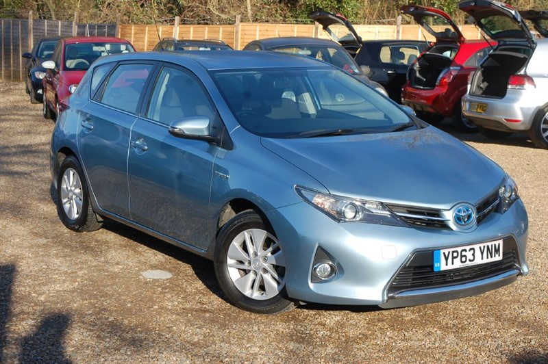 used Toyota Auris VVT-I ICON in tiptree-essex