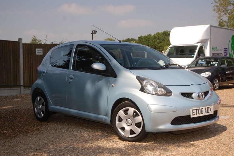 used Toyota Aygo VVT-I + in tiptree-essex