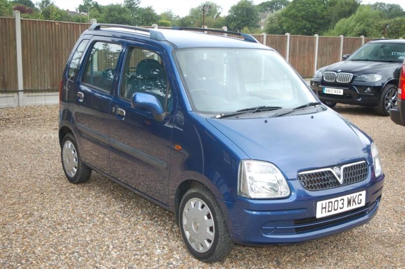 used Vauxhall Agila DESIGN in tiptree-essex