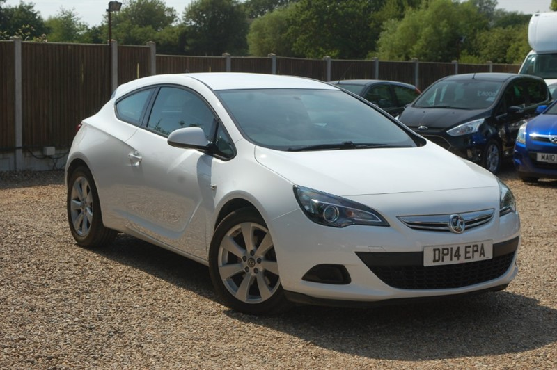 used Vauxhall Astra GTC SPORT S/S in tiptree-essex