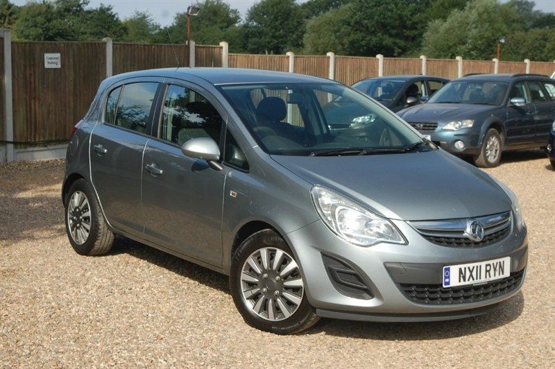 used Vauxhall Corsa EXCLUSIV AC in tiptree-essex