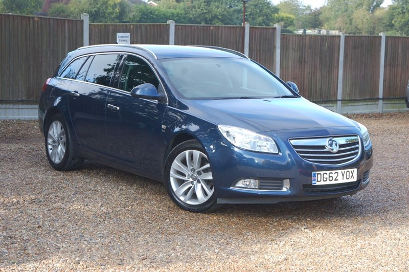 used Vauxhall Insignia SRI NAV CDTI ECOFLEX S/S in tiptree-essex
