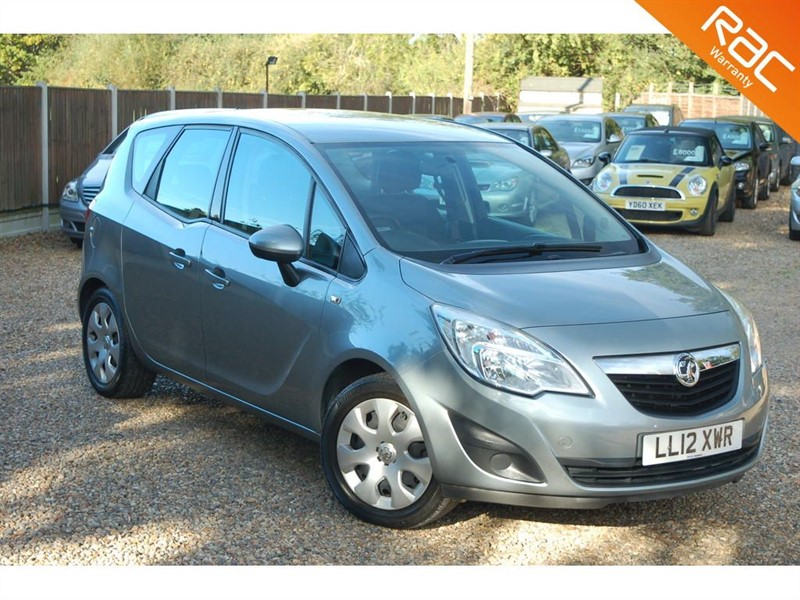 used Vauxhall Meriva EXCLUSIV A/C in tiptree-essex
