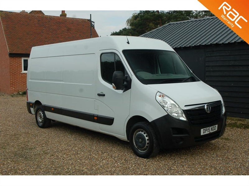 used Vauxhall Movano F3500 L3H2 P/V CDTI in tiptree-essex