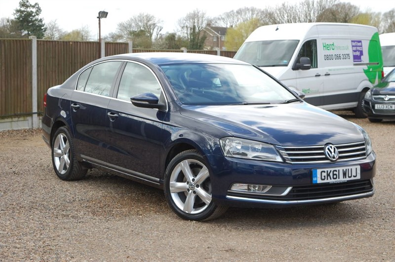 used VW Passat SE TDI BLUEMOTION TECHNOLOGY in tiptree-essex