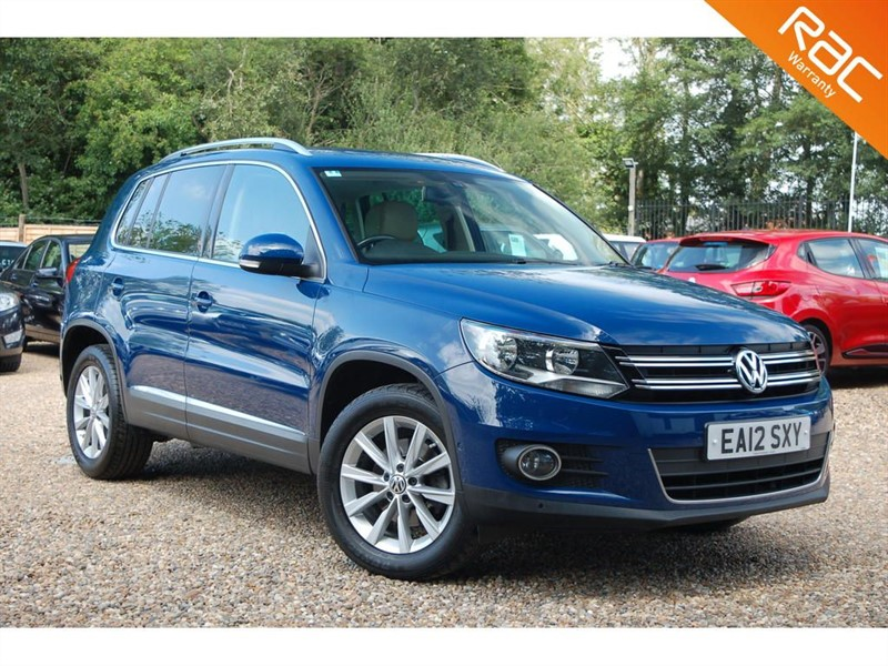 used VW Tiguan SE TDI BLUEMOTION TECHNOLOGY in tiptree-essex