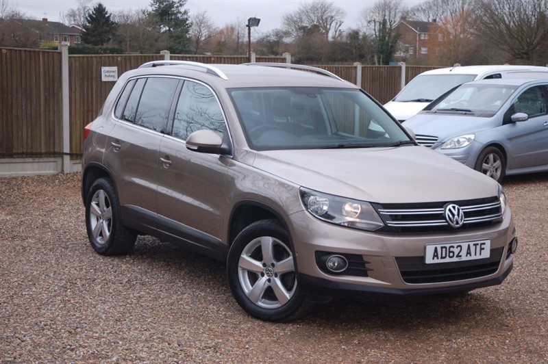 used VW Tiguan SE TDI BLUEMOTION TECHNOLOGY 4MOTION in tiptree-essex