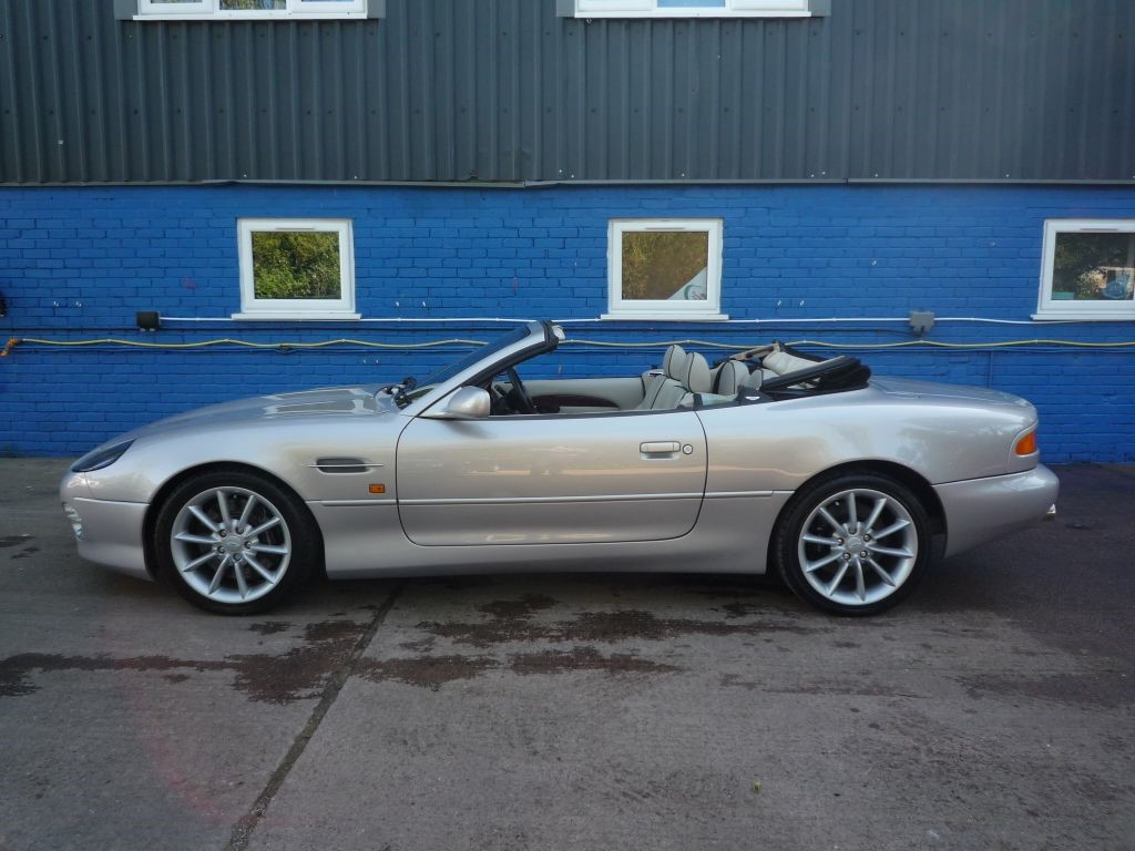 used silver metallic aston martin db7 for sale | gloucestershire