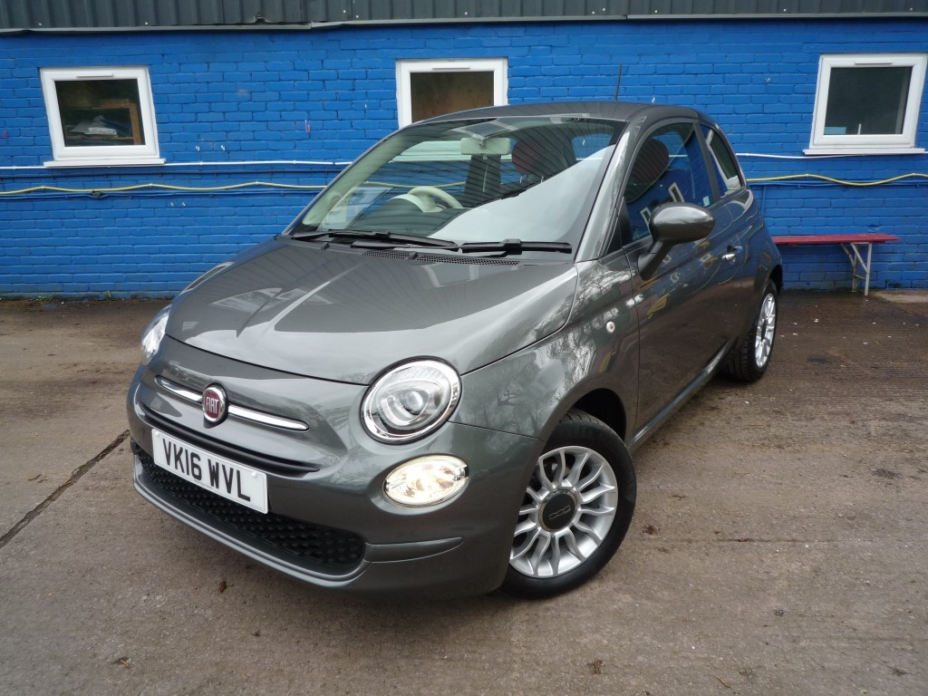 Used Grey Metallic Fiat 500 For Sale Herefordshire