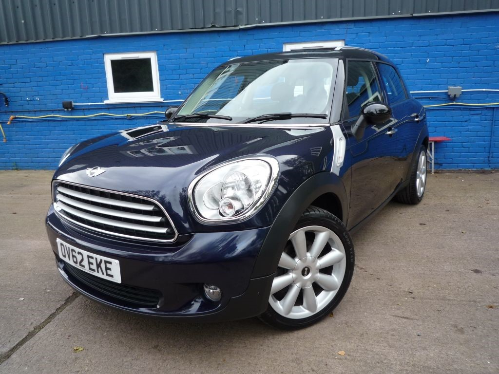 Used Cosmic Blue Metallic Mini Countryman For Sale Gloucestershire