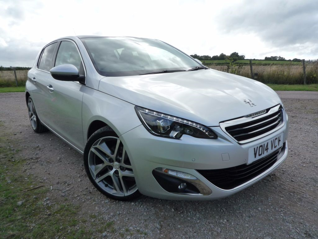 used silver metallic peugeot 308 for sale gloucestershire. Black Bedroom Furniture Sets. Home Design Ideas