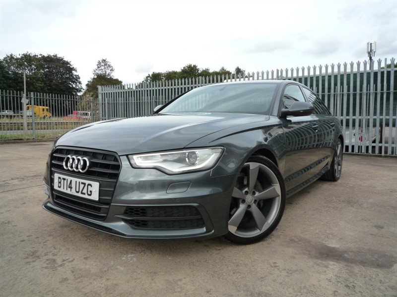 used Audi A6 Saloon TDI ULTRA S LINE BLACK EDITION in chepstow-monmouthshire
