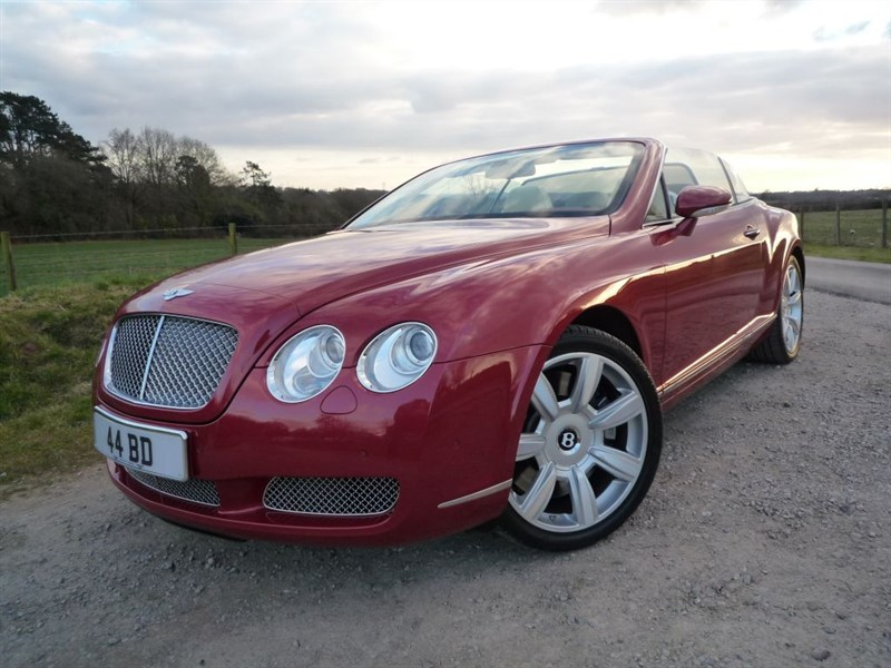 used Bentley Continental GTC W12 in chepstow-monmouthshire