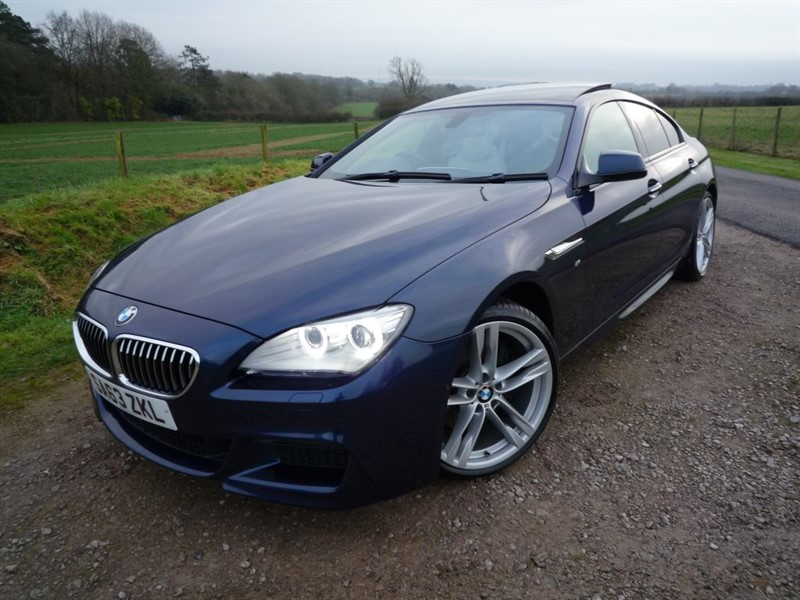 used BMW 640d M SPORT GRAN COUPE in chepstow-monmouthshire
