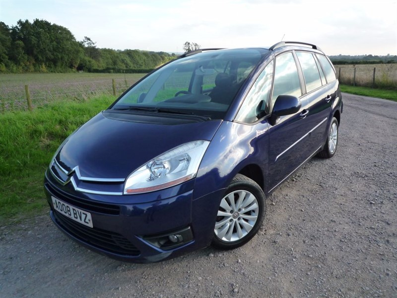 used Citroen C4 Picasso GRAND VTR PLUS 16V in chepstow-monmouthshire