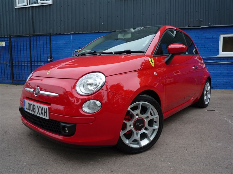 used Fiat 500 Ferrari Dealer Edition in chepstow-monmouthshire