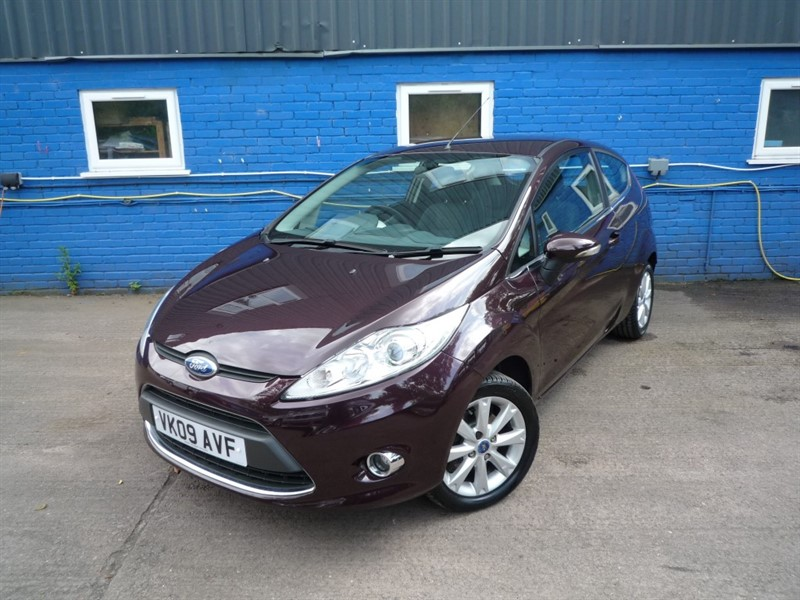 used Ford Fiesta ZETEC in chepstow-monmouthshire