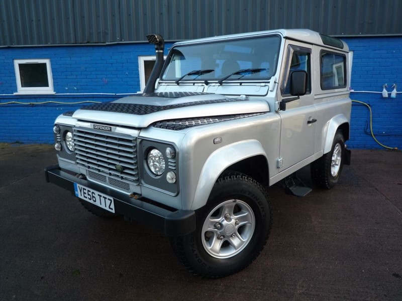 used Land Rover Defender 90 TD5 COUNTY HARD TOP in chepstow-monmouthshire
