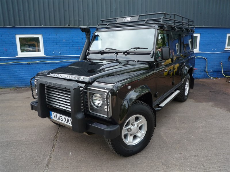 used Land Rover Defender TD XS STATION WAGON in chepstow-monmouthshire