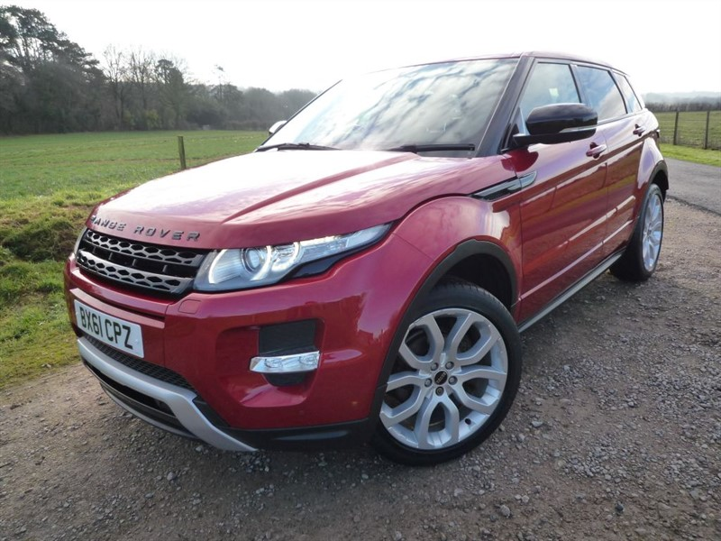 used Land Rover Range Rover Evoque SD4 DYNAMIC in chepstow-monmouthshire