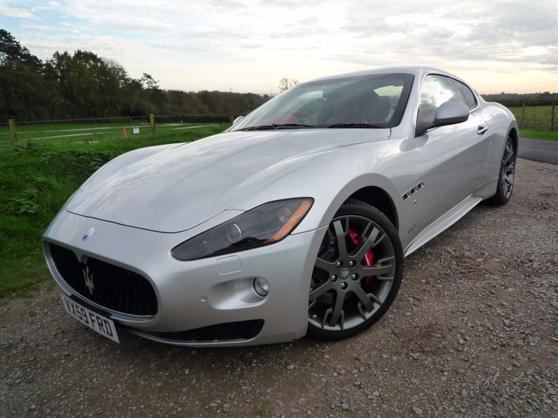 used Maserati Granturismo S MC Shift in chepstow-monmouthshire