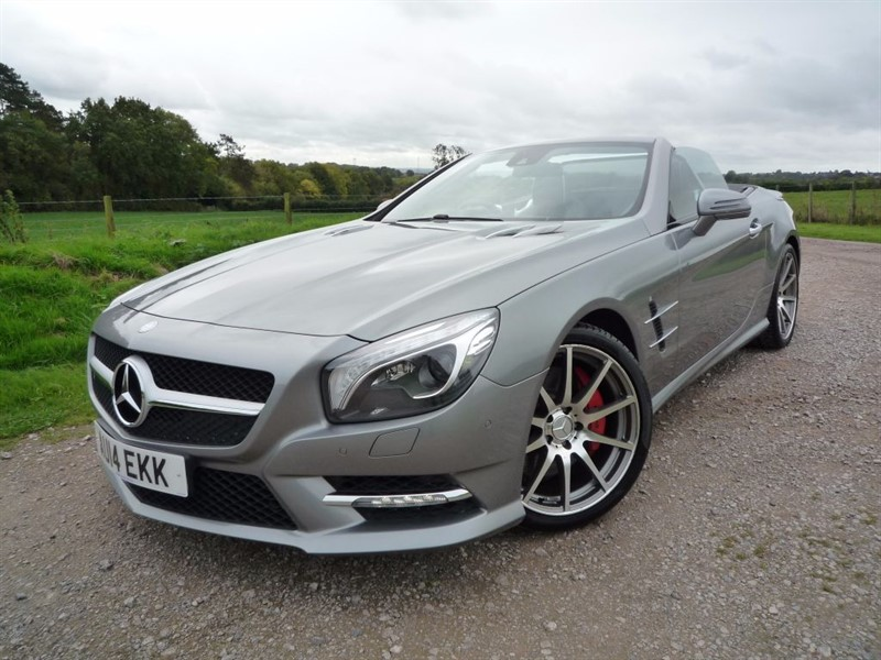 used Mercedes SL SL350 in chepstow-monmouthshire