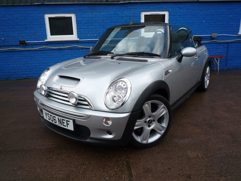 used MINI Convertible COOPER S in chepstow-monmouthshire