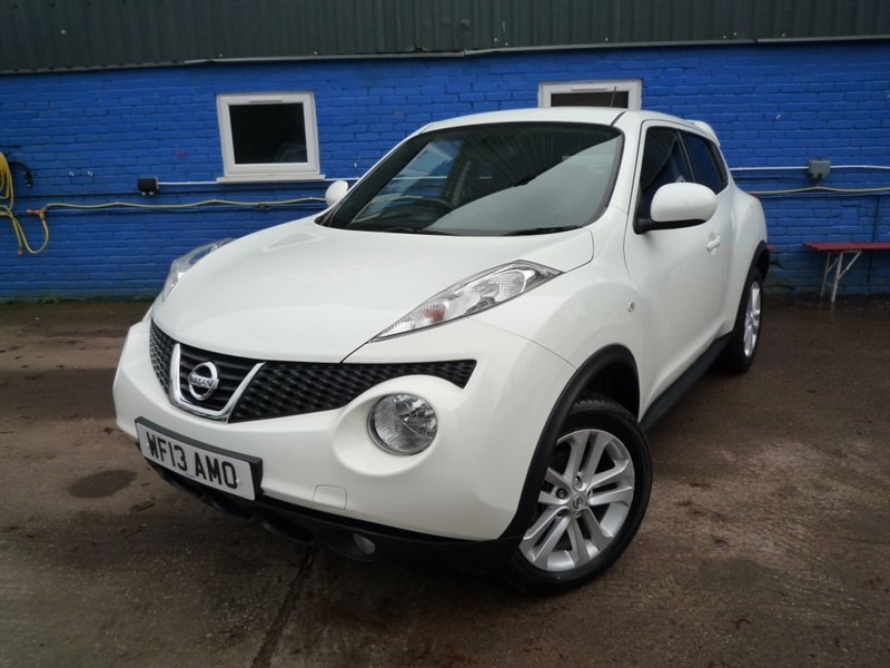 used Nissan Juke ACENTA PREMIUM DCI in chepstow-monmouthshire