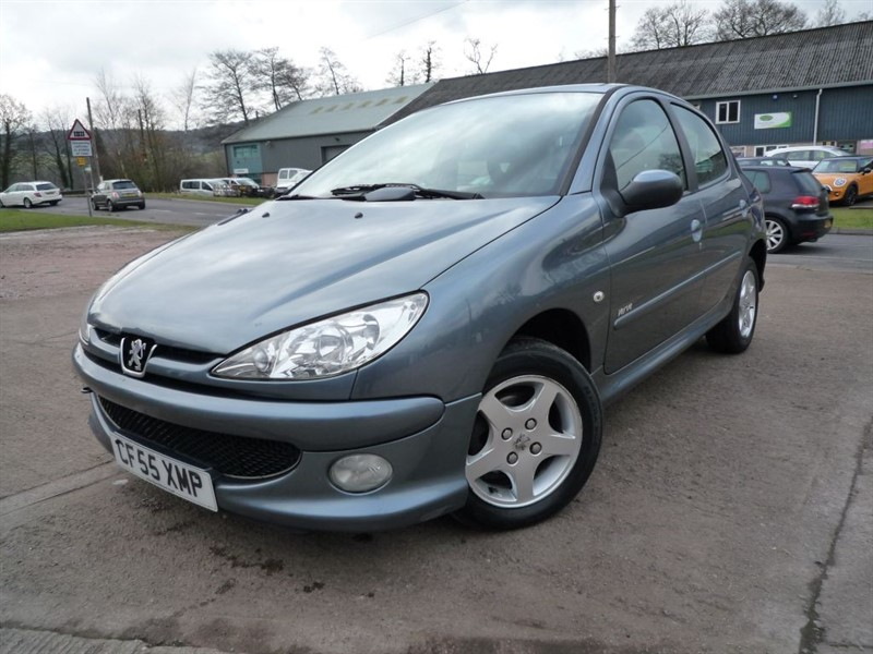 used Peugeot 206 VERVE in chepstow-monmouthshire