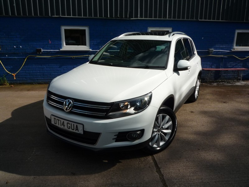 used VW Tiguan MATCH TDI BLUEMOTION TECH 4MOTION DSG in chepstow-monmouthshire