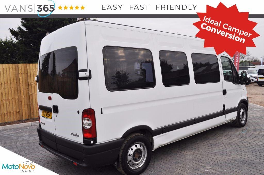 White Renault Master For Sale