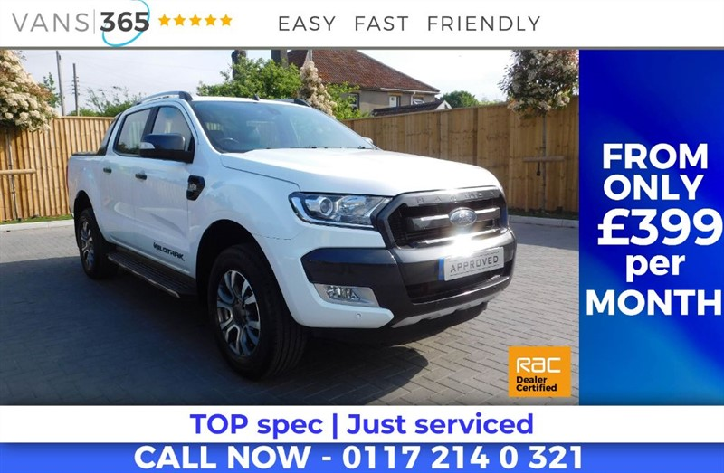 used Ford Ranger WILDTRAK 4X4 DCB TDCI AUTO ONLY 33K MILES TOW BAR ROLLER SHUTTER TOP  in bristol