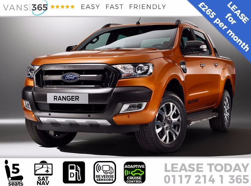 used Ford Ranger Wildtrak PickUp Double Cab  3.2 TDCi  £265+VAT PM in bristol