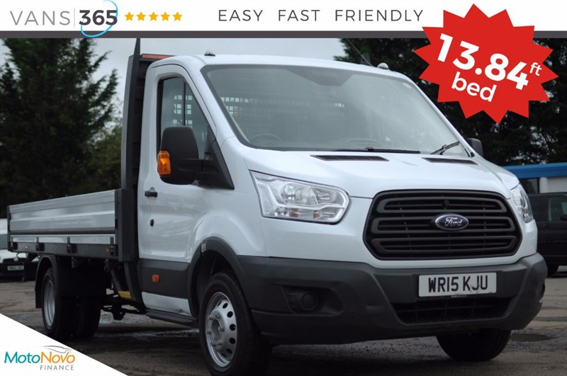 used Ford Transit 13.84FT BED ONE STOP ALLOY BODY 350 SINGLE CAB 125 BHP in bristol