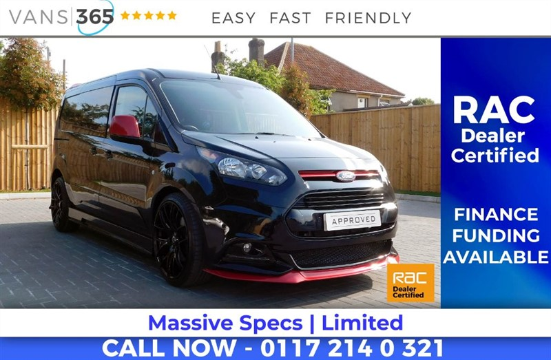 used Ford Transit Connect HUGE SPEC LEATHER SEATS AUTOMATIC AIR CON SAT NAV SPORT STYLE CREWVAN/KOMBI in bristol