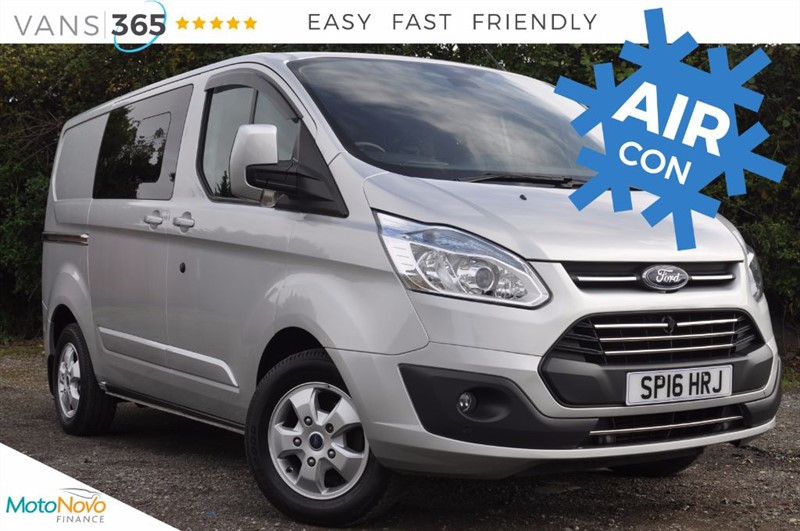used Ford Transit Custom *NO VAT* ONLY 12K MILES 290 LIMITED LR DCB  in bristol