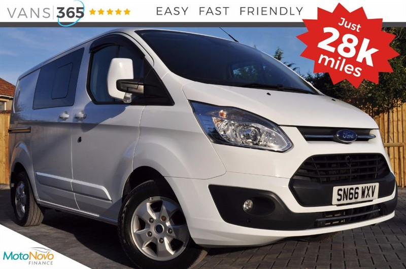 used Ford Transit Custom *NO VAT* 290 LIMITED MODEL LR DCB AIR CON CRUISE HEATED SEATS ROOFBARS in bristol