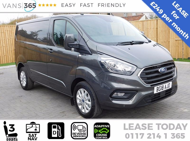 used Ford Transit Custom *LEASE* NEW Shape LIMITED Custom CREWVAN Limited AUTO 170ps SWB £249+VAT PM in bristol