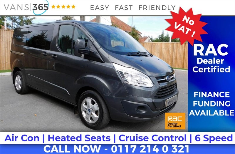 used Ford Transit Custom 290 LIMITED LR DCB in bristol