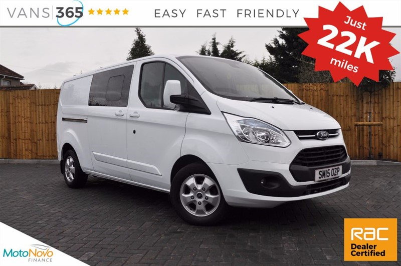 used Ford Transit Custom *NO VAT* 290 LIMITED MODEL LR DCB AIR CON CRUISE HEATED SEATS TOW BAR  in bristol