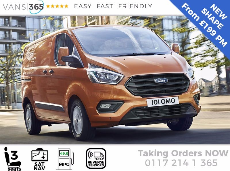 used Ford Transit Custom NEW Shape in bristol