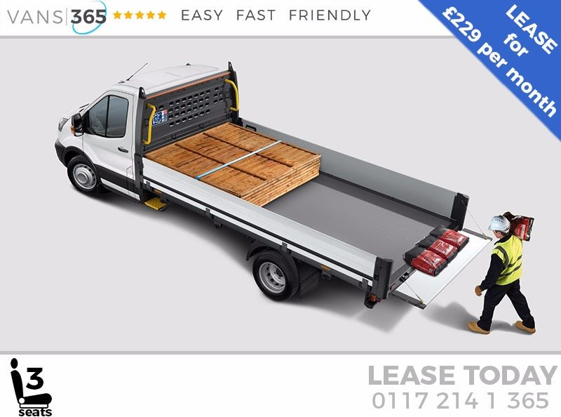 used Ford Transit *LEASE DEAL* NEW 130 PS L4 EX LWB 'ONE STOP' ALLOY DROPSIDE DRW £229+VAT PM in bristol