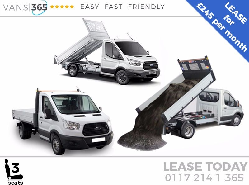 used Ford Transit *LEASE DEAL* NEW 130ps 'One Stop' alloy Tipper £245+VAT PM in bristol