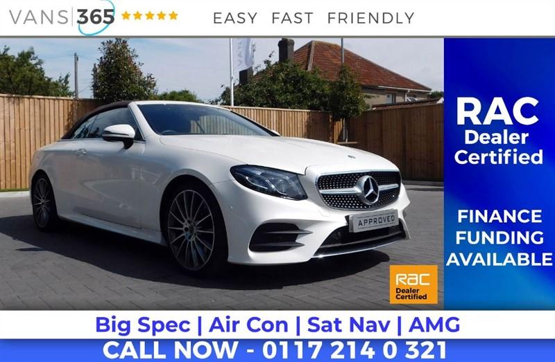 used Mercedes E220 E-CLASS E 220 D AMG LINE PREMIUM PLUS in bristol