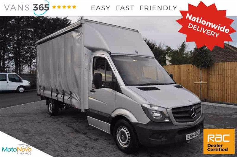 used Mercedes Sprinter RARE AIR CON 130 BHP CURTAIN SIDED SPRINTER WITH REAR ROLLER SHUTTER CDI in bristol